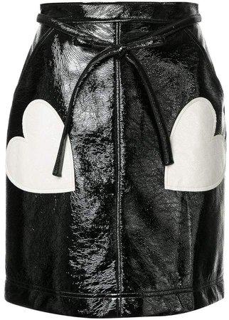 Alexa Chung heart skirt