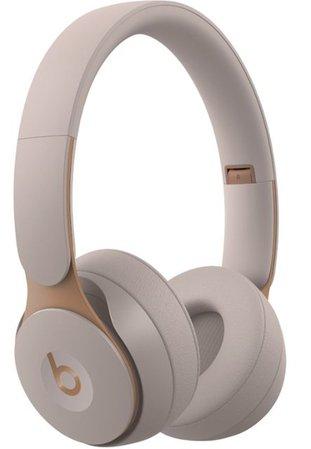 Beats by Dr. Dre Solo Pro Wireless Noise Cancelling On-Ear Headphones Gray MRJ72LL/A - Best Buy
