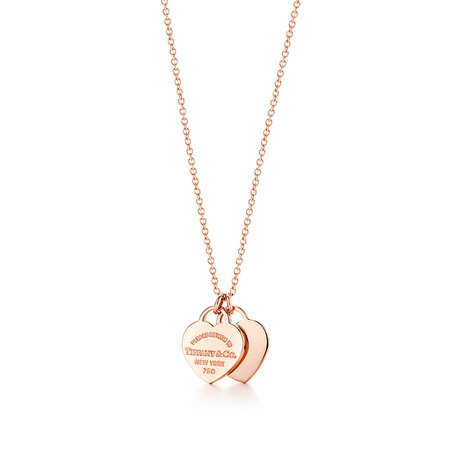 tiffany necklace gold