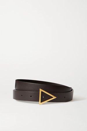 Brown Leather belt | Bottega Veneta | NET-A-PORTER