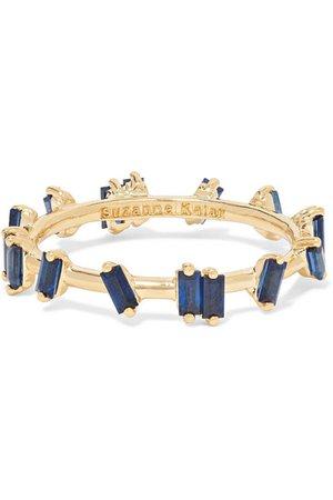 Suzanne Kalan   18-karat gold sapphire ring   NET-A-PORTER.COM