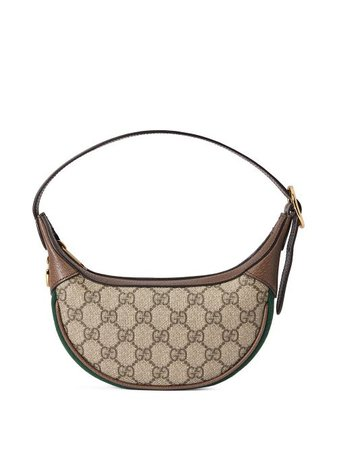 Shop brown Gucci Ophidia GG Supreme canvas mini bag with Express Delivery - Farfetch