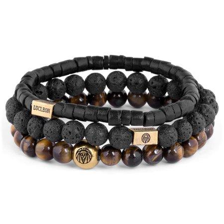 Tiger's eye & Coconut Miro Bracelet | In stock! | Lucleon