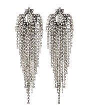 Dannijo Esme Fringe Faux Pearl Earrings | INTERMIX®
