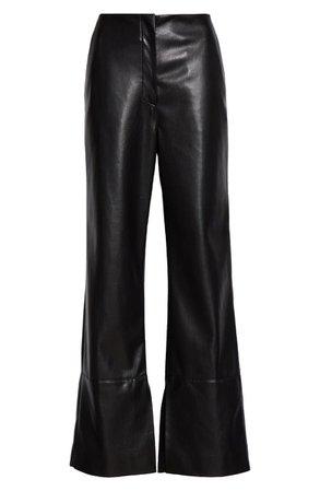 Nanushka Rhyan Wide Leg Vegan Leather Pants | Nordstrom