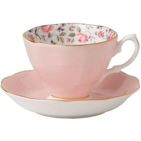 pink tea cup png filler