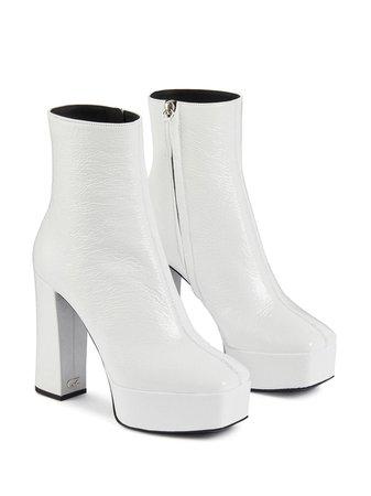 Giuseppe Zanotti Platform Ankle Boots - Farfetch