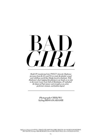 Bad Girl text
