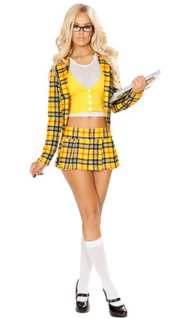 School Girl Without A Clue Costume, Sexy Cher Costume - Yandy.com