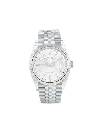 Rolex Pre-Owned Datejust Klocka Från 2020 - Farfetch