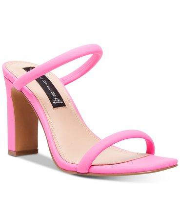 STEVEN by Steve Madden Women's Jersey Naked Sandals & Reviews - Heels & Pumps - Shoes - Macy's