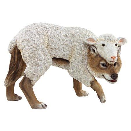 Wolf in Sheep's Clothing Garden Statue - Walmart.com