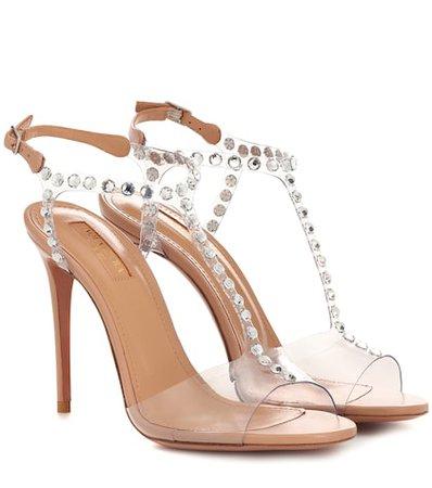 Shine 105 embellished sandals