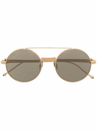 Cartier Eyewear Lunettes De Vue Pasha à Monture Ronde - Farfetch