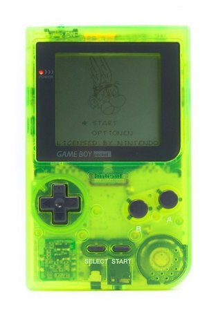 Institute for Y2K Aesthetics — Game Boy Pocket 'Extreme Green' (1997)