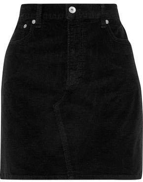 Hayden Cotton-corduroy Mini Skirt
