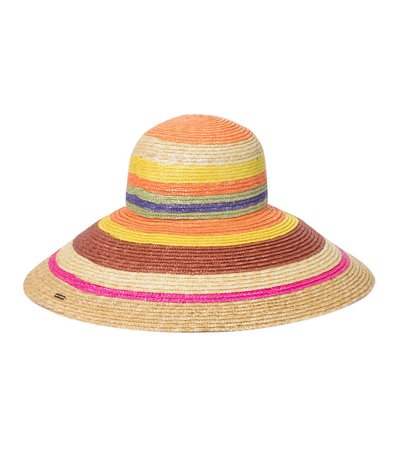Missoni Mare - Striped straw hat | Mytheresa