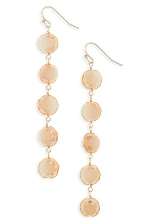 Panacea Crystal Linear Earrings | Nordstrom