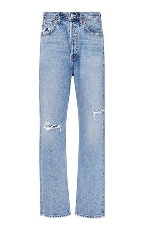 Mid-Rise Straight-Leg Jeans by Agolde | Moda Operandi