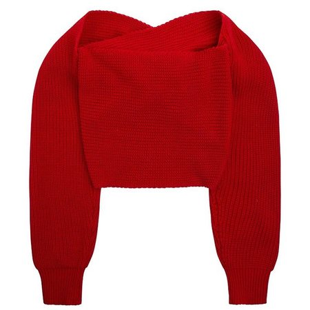 Gimaguas Red knitted jumper