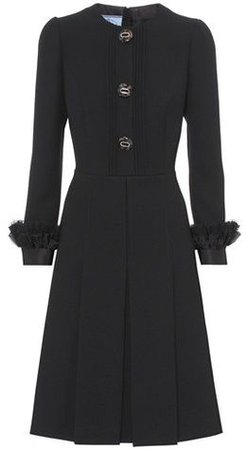Prada Wool-Crepe Dress