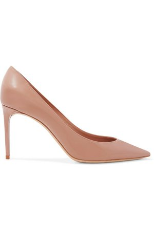 SAINT LAURENT | Zoe Pumps aus Lackleder | NET-A-PORTER.COM