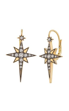 18k Yellow Gold Astraea Earrings By Venyx | Moda Operandi