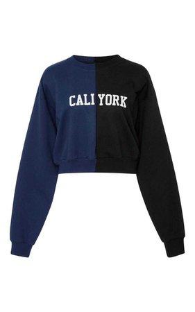 Cali York Sweatshirt by Cynthia Rowley