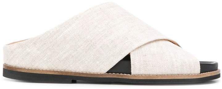 Crossover Straps Sandals