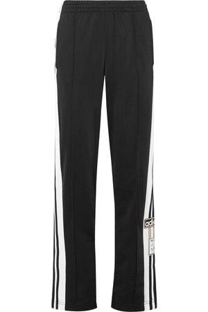 adidas Originals   Striped satin-jersey track pants   NET-A-PORTER.COM