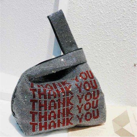 Thank you purse