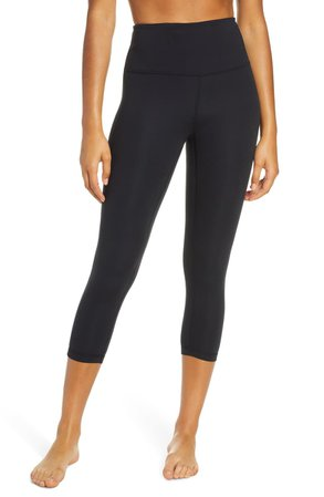 Zella Studio Lite High Waist Crop Leggings | Nordstrom