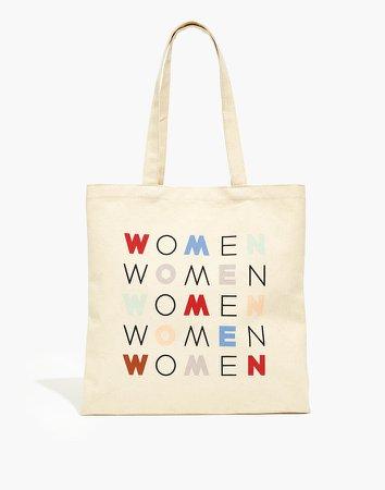 x Girls Inc. Women Graphic Reusable Canvas Tote Bag