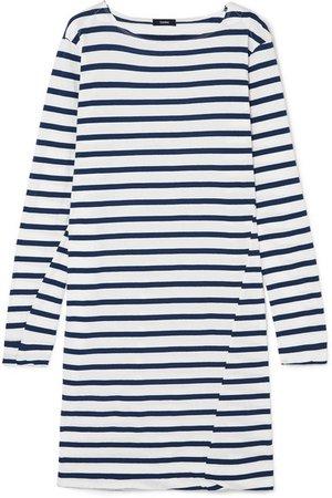 Bassike | Sailor striped organic cotton-jersey dress | NET-A-PORTER.COM