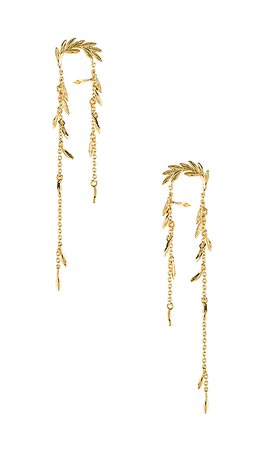 gorjana Willow Earrings in Gold | REVOLVE