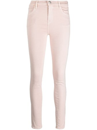 J Brand Maria high-rise skinny jeans - FARFETCH