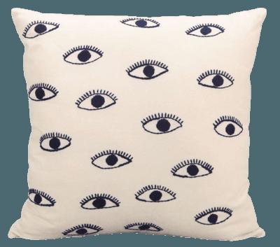 Embroidered Eye Pillow - Matchbook Magazine