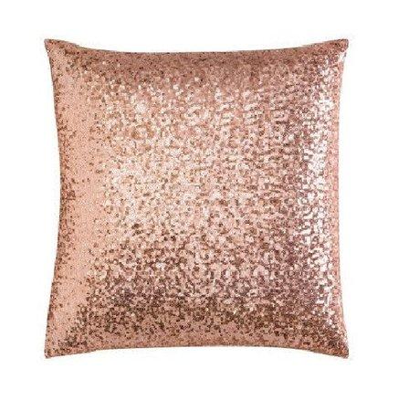Capa para almofada de Mini Paetê Rose gold no Elo7 | Decor'além (B7F306)