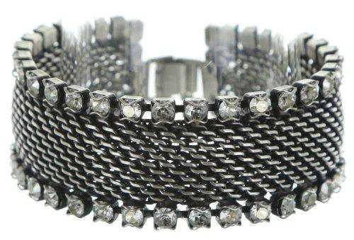 bracelet Rock 'n' Glam white antique silver – KONPLOTT USA