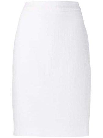 Boutique Moschino crocodile-embossed Skirt - Farfetch