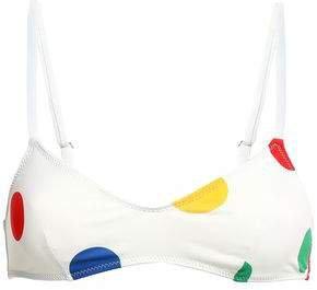 The Rachel Polka-dot Bikini Top