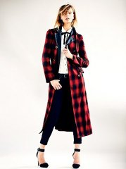 WornOnTV: Scarlett's long red checked coat on Nashville | Clare Bowen | Clothes and Wardrobe from TV