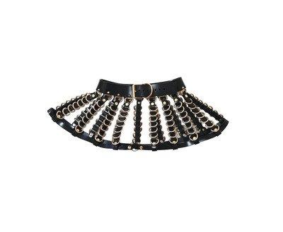 Jennette Skirt ( Black + Gold ) · CREEPYYEHA · Online Store Powered by Storenvy
