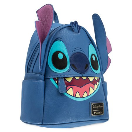 Stitch Faux Leather Mini Backpack by Loungefly | shopDisney