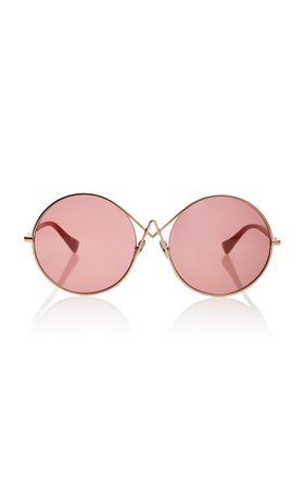 Oversized Round Sunglasses by Altuzarra sunglasses | Moda Operandi