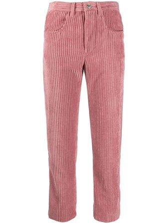 Isabel Marant Étoile cropped corduroy trousers