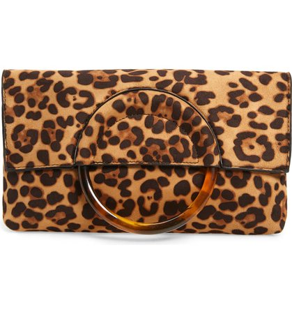 BP. Ring Handle Classic Clutch | Nordstrom