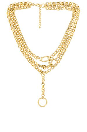 Uncommon James Luxe and Ball Necklace in Gold | REVOLVE
