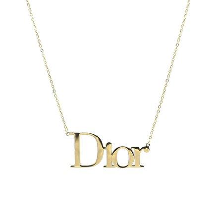 Dior Necklace Gold – True Vintage
