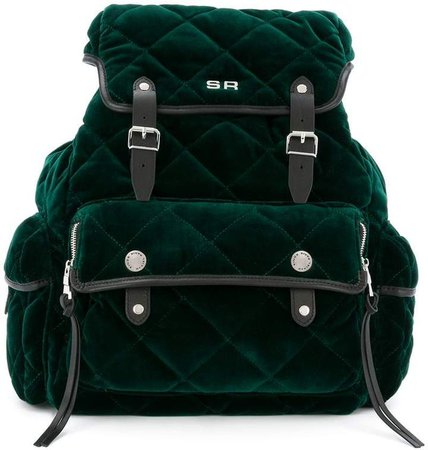 Le Oyster quilted backpack